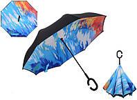 Зонт наоборот umbrella. Антизонт