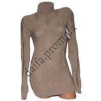 Женский вязаный свитер R529-3 (р-р 46-48) оптом в Одессе. Интернет-магазин Daifa.
