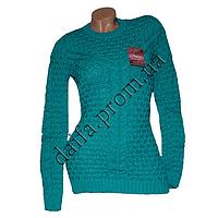 Женский вязаный свитер 534-4 (р-р 46-48) оптом в Одессе. Интернет-магазин Daifa.