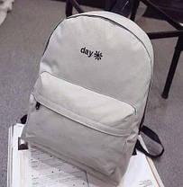 Стильный тканевый рюкзак Day Night, фото 2