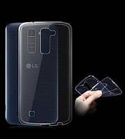 Силикон ультратонкий (0,33мм) LG K10/K430DS (Grey)
