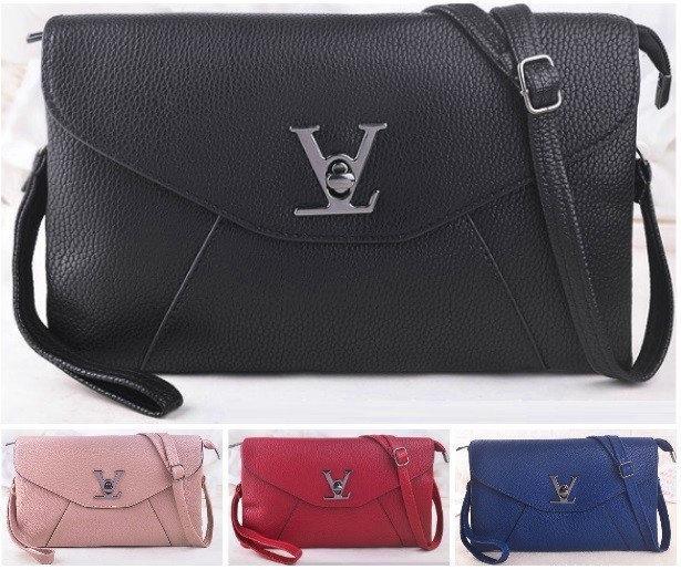 Женская сумка клатч конверт Louis Vuitton