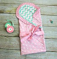 Детский конверт - одеяло (80х80см, лето)