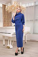 Стильное платье из ангоры код 1600-4, фото 1