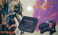 Игровая приставка ДЕНДИ (8-бит)FH(без картриджа и пистолета, в корпусе Sega)