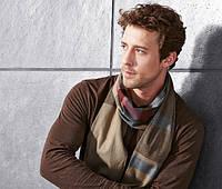 Мягенький фланелевый шарф от тсм Tchibo размер универсальный