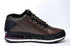 Зимние ботинки в стиле New Balance 754 на меху, кожа, фото 3