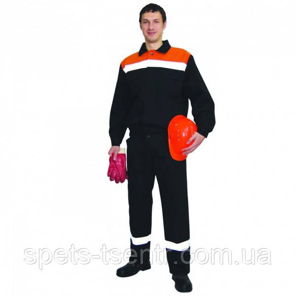 Костюм мужской для защиты от общих производственных загрязнений и механических воздействий. ( плотная ткань )