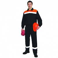 Костюм мужской для защиты от общих производственных загрязнений и механических воздействий.