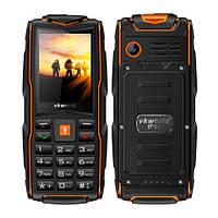Land RoverV3+ 3sim IP68 Защищенный телефон c мощным фонариком(Power Bank) Orange(оранжевый), фото 1