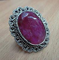 """Восточный перстень с рубином """"Султан"""", размер 17.3 от студии LadyStyle.Biz"""