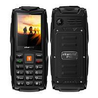 Land RoverV3+ 3sim IP68 Защищенный телефон c мощным фонариком(Power Bank) black(черный), фото 1