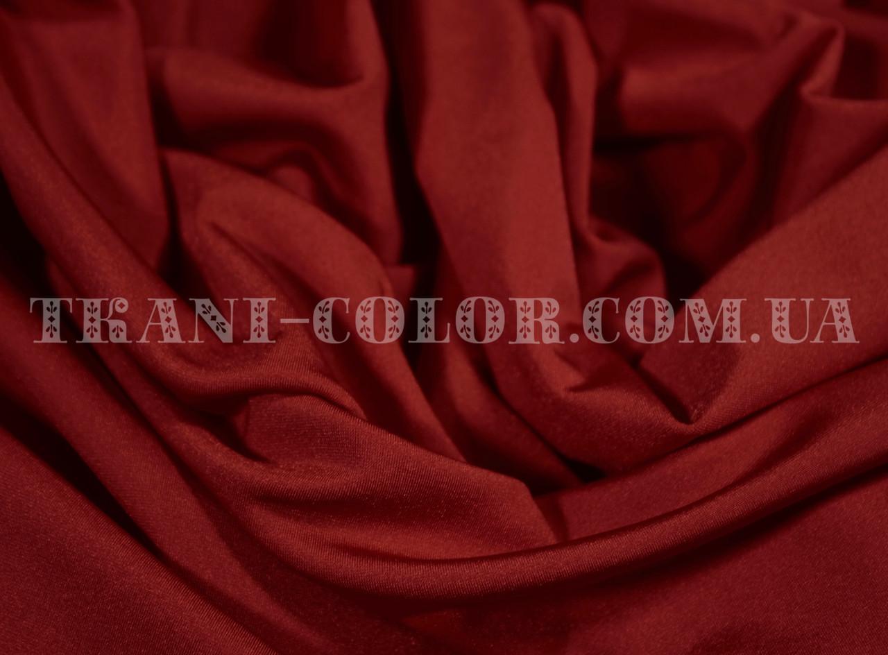 Ткань бифлекс блестящий бордовый