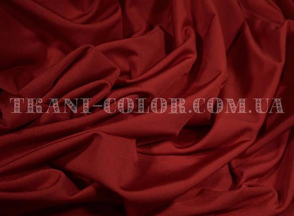 Ткань бифлекс блестящий бордовый, фото 2