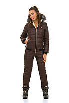 Женский зимний костюм для активного отдыха зимой на синтепоне-200 в размерах S M L, фото 2