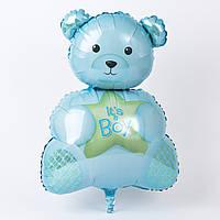 """Шар воздушный фольгированный Мишка """"It's a boy"""""""