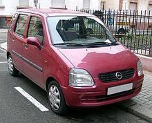 Тюнинг Opel Agila (опель агила 2000г-2007г)