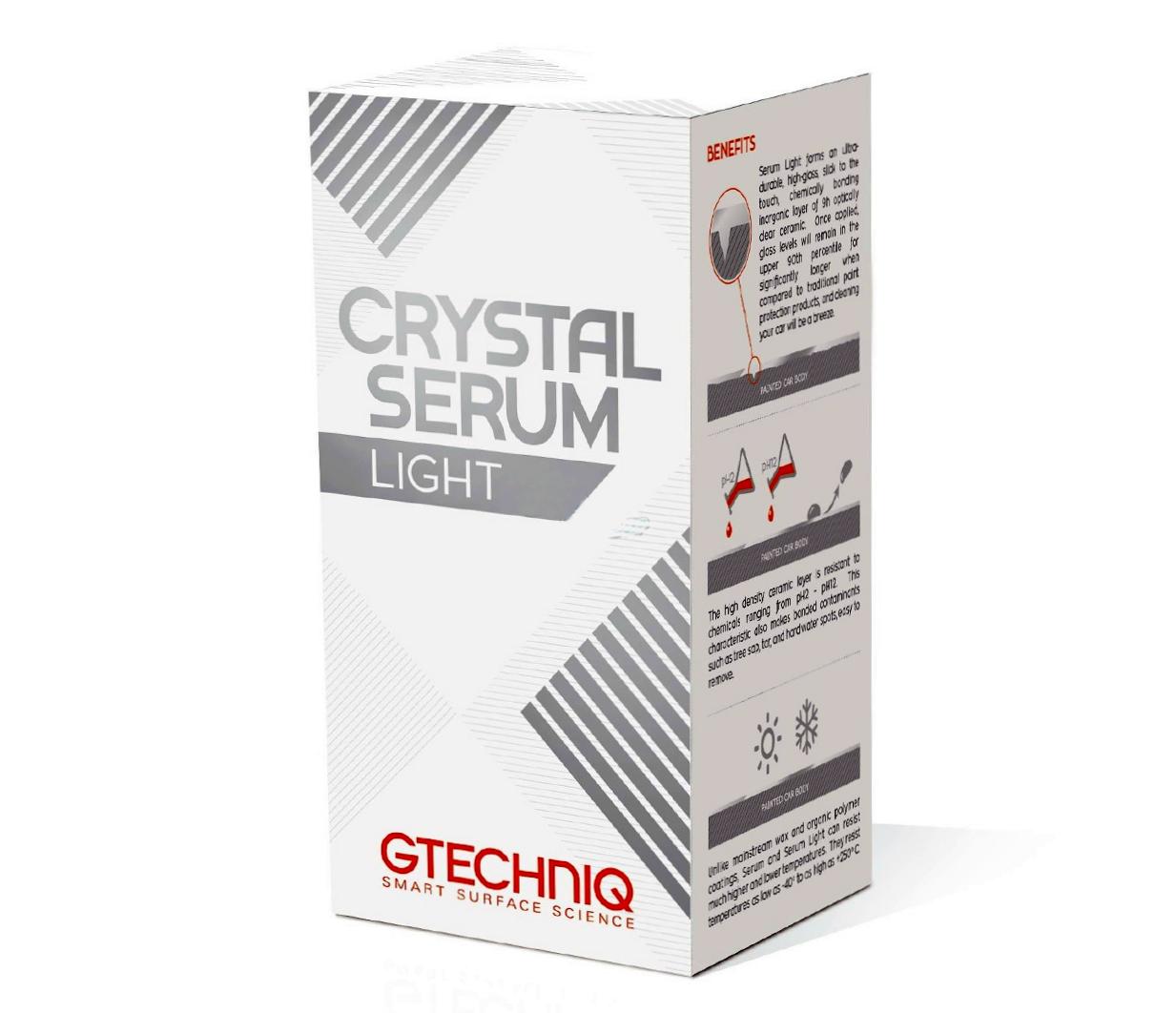 Gtechniq Crystal Serum Light защитное нанокерамическое покрытие 9H