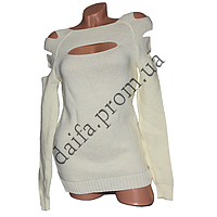 Женский вязаный свитер R782-5 (р-р 46-48) оптом в Одессе. Интернет-магазин Daifa.