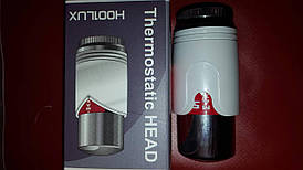 Термоголовка (М30х1,5) біла з хромом