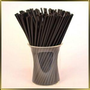 """Палочки для Кейк-попсов """"черные"""" 15 см (50 шт.)"""