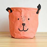 Корзина для игрушек Bear pink Berni