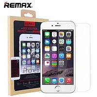 Защитное стекло Remax для iPhone 6 6S Plus закаленное