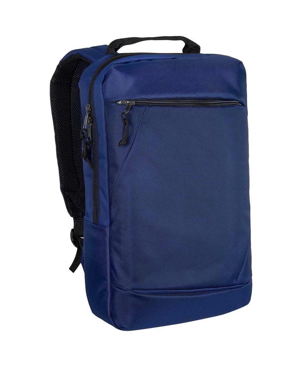 Городской рюкзак для ноутбука синий Surikat 18л. (мужские рюкзаки, жен