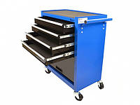 4-ящичный шкафчик для инструментов + отделение для хранения Geko G10804
