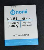 Оригинальная батарея Nomi i500 (NB-51)