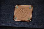Сумка женская VS135 leather canvas 30х28х7 см, фото 7