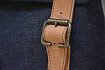 Сумка женская VS135 leather canvas 30х28х7 см, фото 8