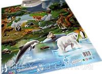 Интерактивный плакат Зоопарк (7030)