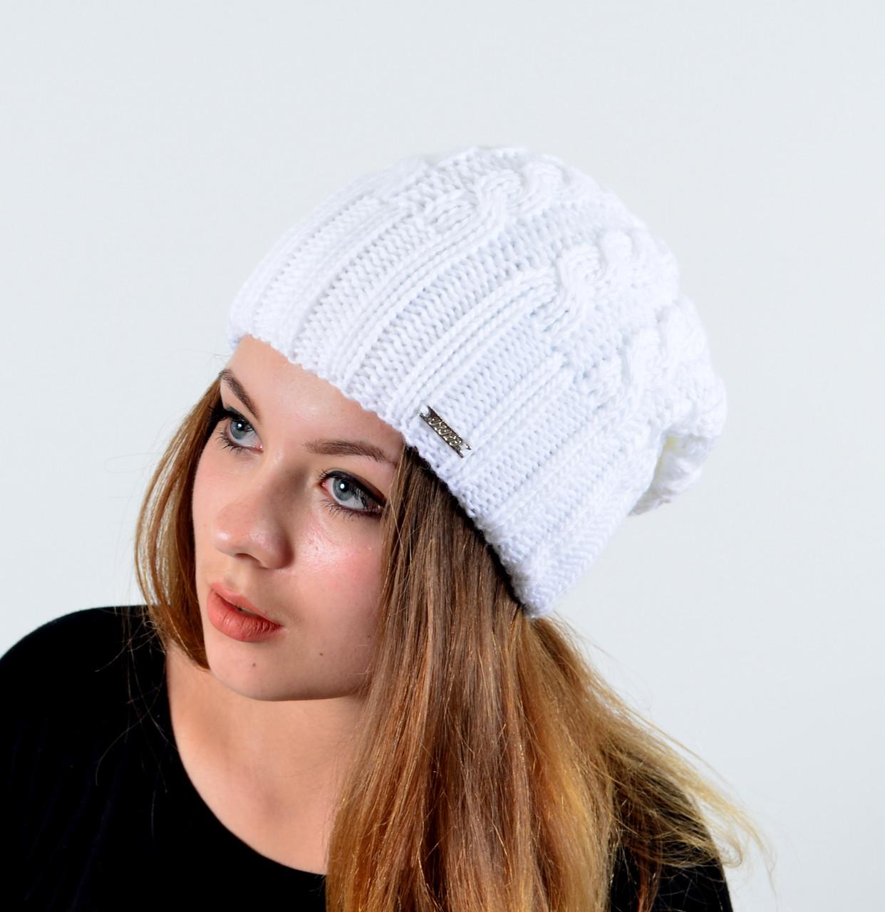 Женская шапка veilo двойная