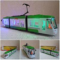 Городской трамвай музыкальный
