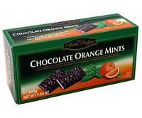 Шоколадные конфеты с мятой и апельсином Maitre Fruffout Chocolate Orange Mints 200г