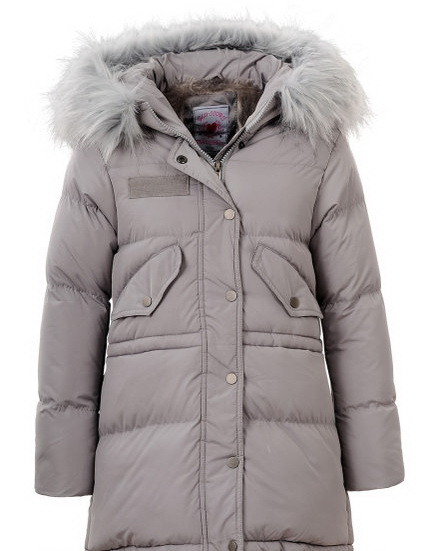 Детское зимнее пальто на девочку подростка