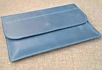 Чехол для небольшого ноутбука из натуральной кожи ручной работы