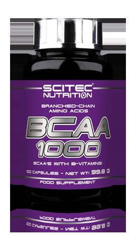 Scitec Nutrition BCAA 1000 100 caps, Сцайтек БЦАА 1000 100 капсул