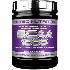 Scitec BCAA 1000 300 caps
