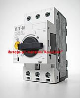 Автоматический выключатель защиты двигателя EATON PKZMO-16  XTPR016BC1 10...16A (Германия)