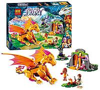 Конструктор Bela Fairy 10503 Лавовая пещера дракона огня, 446 дет