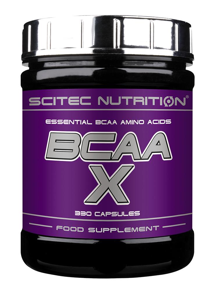 Scitec Nutrition BCAA X 330 caps, Сцайтек БЦА Х 330 капсул
