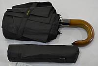 "Мужской зонт полуавтомат на 9 спиц из углепластика от фирмы ""Susino"""