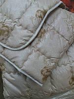 Элитное зимнее теплое одеяло из верблюжьей шерсти 200*220.
