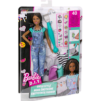 """Ігровий набір """"Барбі: Emoji Style"""" - Лялька з одягом і аксесуарами dyn92, фото 1"""