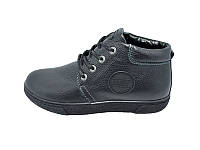 Мужские зимние кроссовки с нат.кожи DAV Stael 3240 Black размеры: 40 41 42 43 44