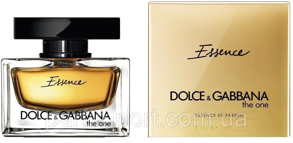 DOLCE & GABBANA THE ONE ESSENCE EDP 40 ml  парфумированная вода женская (оригинал подлинник  Италия)