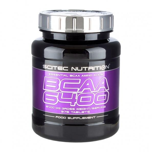 Scitec Nutrition BCAA 6400 375 tab, Сцайтек БЦА 6400 375 таблеток