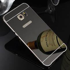 Чехол бампер для Samsung Galaxy S6 Edge G925 зеркальный Брак